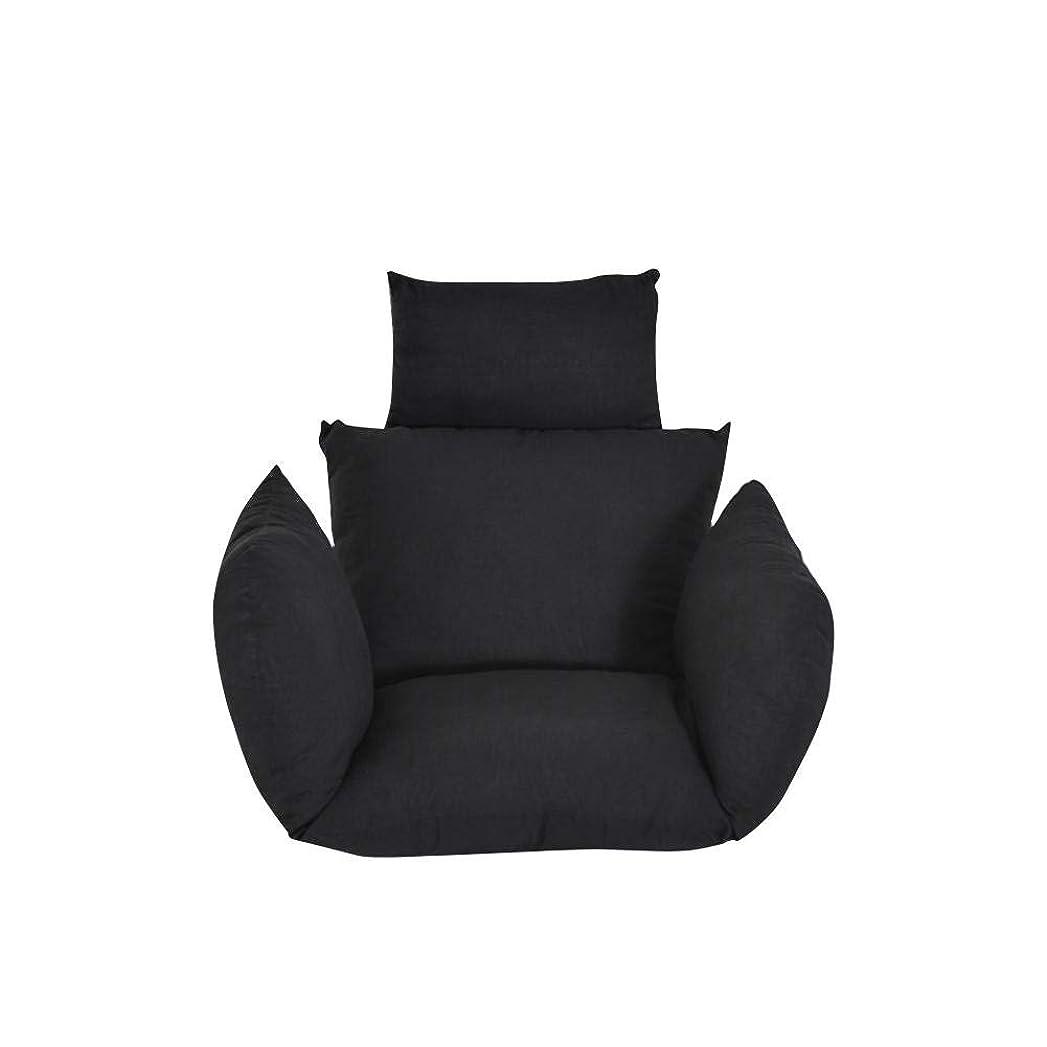 クリスマス収穫受けるハンギングシートクッション 2本枕付き 座面クッション 人気 チェアクッション チェアパッド インテリア 綿 洗濯可能 通気性