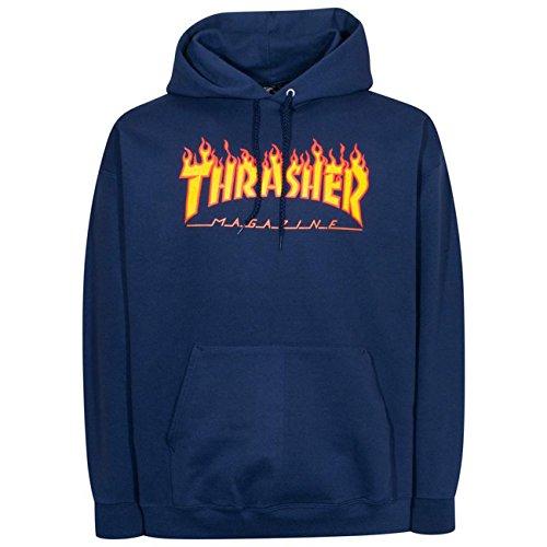 THRASHER Flame Logo - Camiseta Unisex Adulto