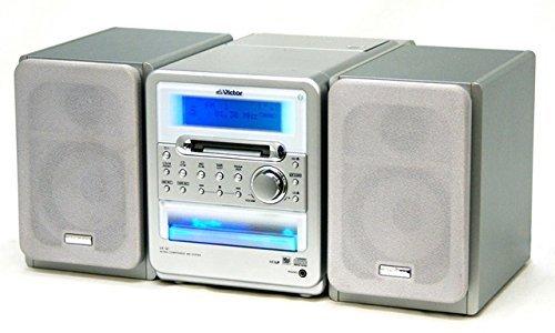 Victor ビクター JVC UX-Q1-S シルバー マイクロコンポーネントMDシステム (CD/MDコンポ)
