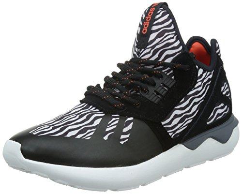 adidas Herren Tubular Runner Sneaker, schwarz/weiß, 40 2/3 EU