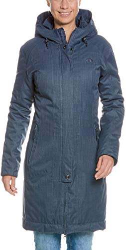 Tatonka Damen Floy W's Coat Mäntel, matt Blue, 46