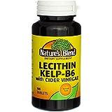 Nature's Blend Lecithin Kelp-B6 with Cider Vinegar 100 Tabs