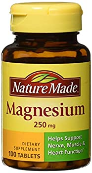 Nature Made Magnesium 250 mg Tablets 100 ea  Pack of 3