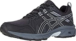 top 10 beginners running shoes get going ASICS Female Gel Venture 7, 8.5 m, Black / Piedmont Gray