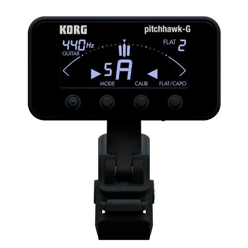 KORG クリップチューナー AW-3G BK PitchHawk-G