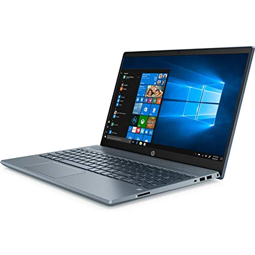 HP Pavilion 15-cw1013na, Blue, AMD Ryzen 5 3500U, 8GB RAM, 512GB SSD, 15.6' 1920x1080 FHD, HP 1 YR WTY + EuroPC Warranty Assist, (Renewed)
