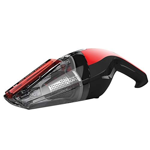 Dirt Devil Handheld Cleaner Quick Flip 8 Volt Lithium Cordless Red Hand Vacuum BD30010