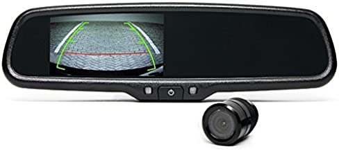 Rear View Camera System | One (1) Flush Mount Camera Setup with Mirror Display