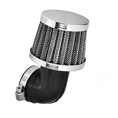 Tuning Luftfilter Sportluftfilter (90° Chrom Ø 28 mm) für Simson S51 S70
