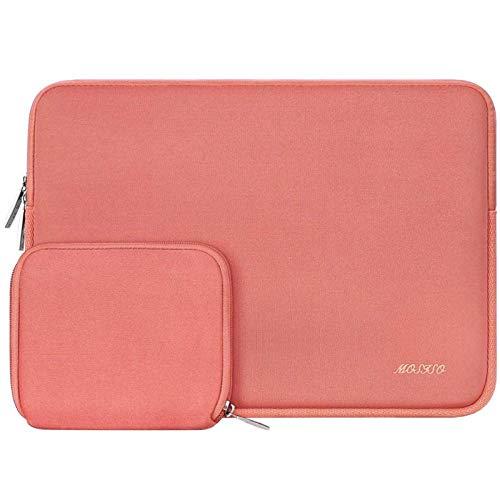 Bolso De Manga Portátil De Neopreno Moso para 11 13 13.3 14 15 Pulgadas MacBook Air Pro Touch Barra De La Barra Portátil para DELL HP (Color : Living Coral, Size : 2016 2020 Mac Pro13)