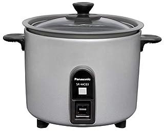 パナソニック 炊飯器 1.5合 ひとり暮らし 小型 ミニクッカー シルバー SR-MC03-S