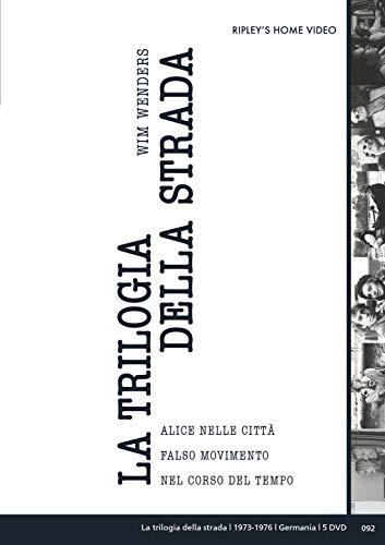 Wim Wenders La Trilogia Della Strada (Box 4 Dvd)