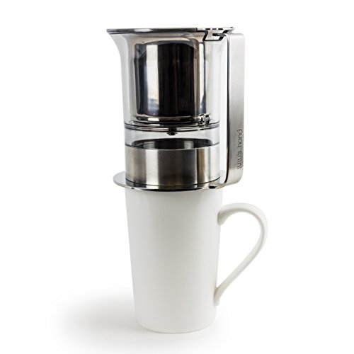 alternative coffee makers Lulu's Hand Coffee Maker - 2-in-1 Pour-Over Coffee Kit for Drip and Immersion Brewing - French Press Alternative - Make Fresh, Flavorful Coffee in Less than 5 Minutes