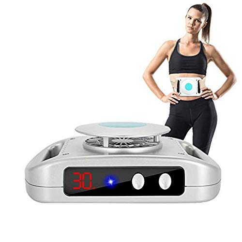 Fat freezing Slimming body machine for arm, waist, thigh, hip, leg Portable body Shape Beauty device slimming adjustable strap(US Plug)
