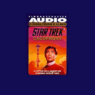 Star Trek: Cacophony (Adapted) audiobook cover art