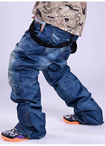 XIXIHY Pantalones de esquí para Hombres Pantalones para Hombres y Muj