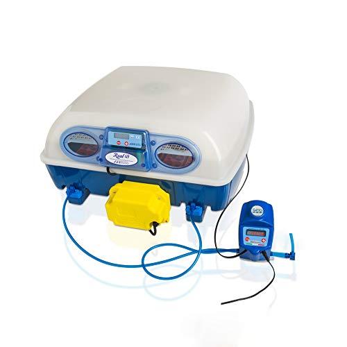 Borotto REAL 49 Expert - Patentierte professionelle automatische Brutmaschine mit automatischem Luftbefeuchter Sirio - für 49 Eier oder 196 kleine Eier