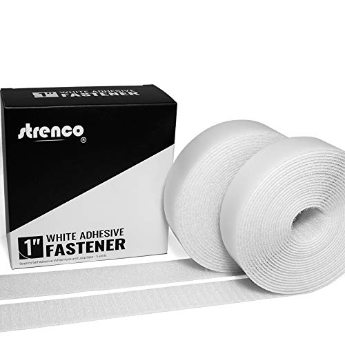 Strenco 1 Inch Self Adhesive Hook and Loop