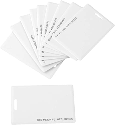 Navkar Set Of 100 RFID Cards For Time Attendance Or Access Control System Having RFID