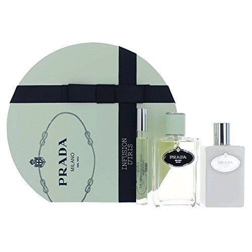 Prada Infusion D'Iris Set 100ml Eau de Parfum + 10ml Eau de Parfum + 100ml Body Lotion