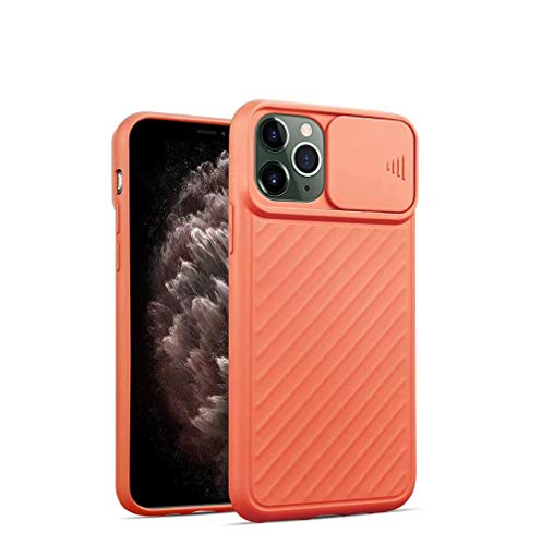 SevenPanda Ganzkörperschutz für iPhone XR Cover Kamera Objektiv Schutzhülle, Rutschfestes Design auf Beiden Seiten Kratzfeste Schutzhülle (Orange, für iPhone XR)