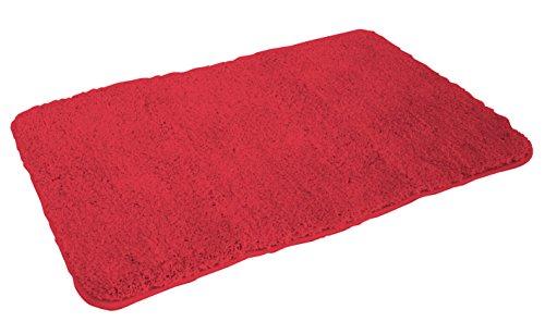 Mesana Tappeto Uni Rosso 60 x 100 cm