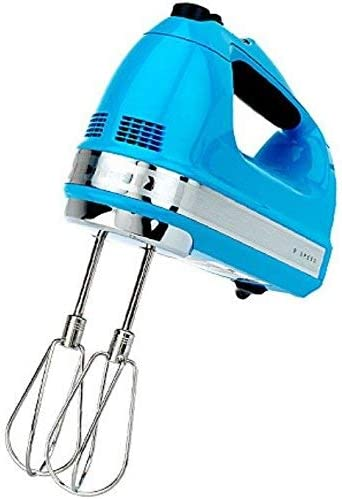 wholesale KitchenAid RKHM9CL 9-Speed 2021 Most outlet online sale Powerful Digital Display Power Hand Mixer Crystal Blue (Renewed) outlet sale