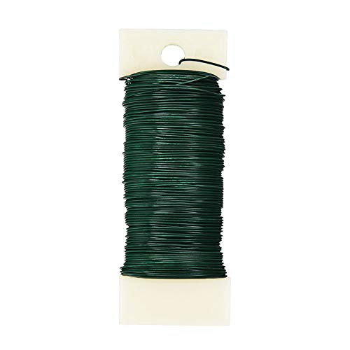 BEADNOVA Floral Wire 38 Yards Paddle Wire 22 Gauge