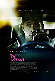 Drive Movie POSTER 27 x 40 Ryan Gosling, Carey Mulligan, A, MADE IN THE U.S.A.