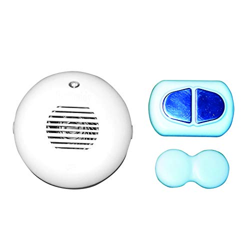 DryBuddy 2 Wireless Mobile Bedwetting and Enuresis Alarm with Extended Wireless Range. for Very Convenient Use in The Home and Away.