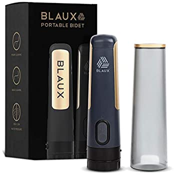 BLAUX Electric Portable Bidet Sprayer - Portable Toilet Cleaning Experience   Portable Shower For Personal Cleaning   Portable Washer   Portable Bidet For Toilet On The Go