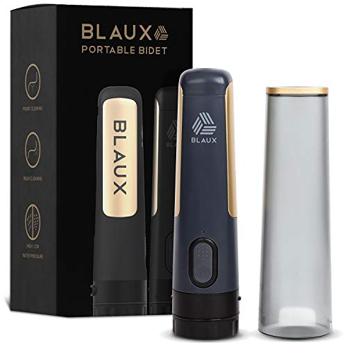 BLAUX Electric Portable Bidet Sprayer - Portable Toilet Cleaning Experience | Portable Shower For Personal Cleaning | Portable Washer | Portable Bidet For Toilet On The Go