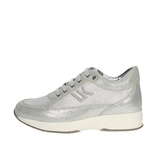 Lumberjack Raul, Sneaker Donna, Argento (Silver Co002), 38 EU