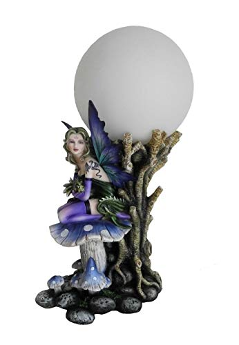 Lámpara de noche con diseño de hada y dragón (modelo E), figura FEE, lámpara de noche