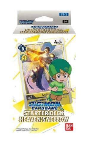 Digimon English TCG ST-3 Starter Deck Heaven's Yellow - 54 Cards