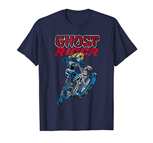 Ghost Rider Flames Graphic T-Shirt