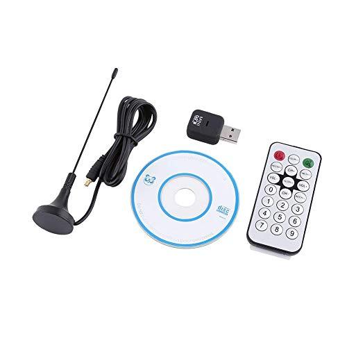 Socobeta Sintonizzatore TV ad Alta sensibilità Ricevitore TV Digitale Universale DVB-T per PC Portatile con Telecomando