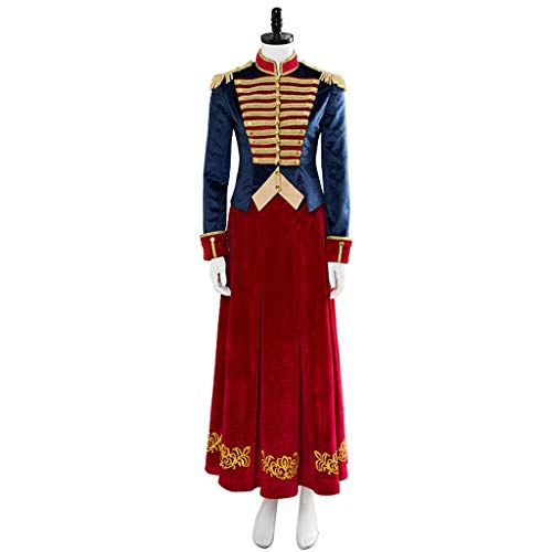 Lilongjiao Frauen Clara Kostüm Nussknacker und Vier Realms Cosplay Ausstattungs-Halloween-Uniform (Size : L)