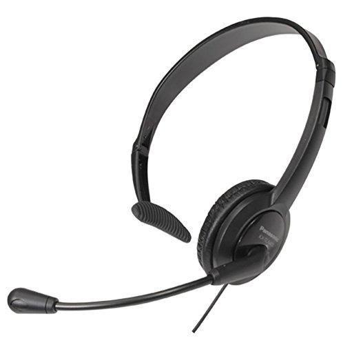 Panasonic RP-TCA400E Headset, DECT, Schwarz