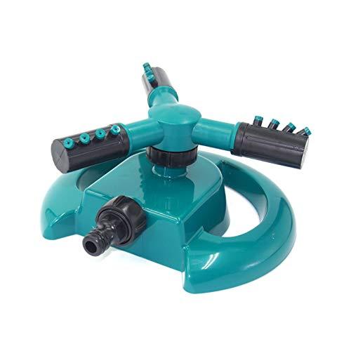 HOKOKO Garden Sprinkler Automatic Lawn Sprinkler 360° Rotating 3-Arm...