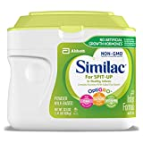 Similac For Spit-Up NON-GMO Infant Formula with Iron,...