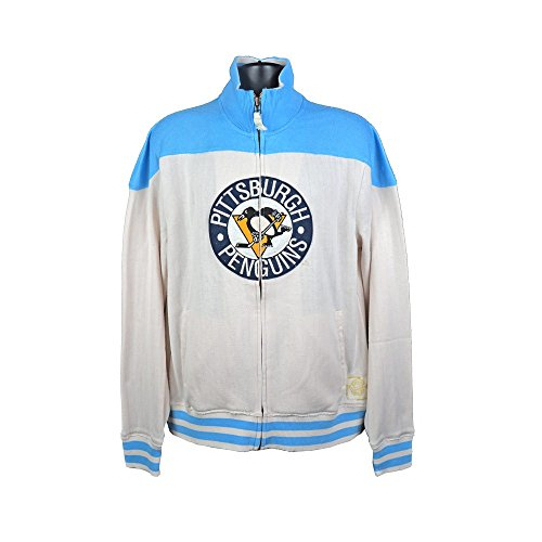 Reebok Pittsburgh Penguins NHL Vintage Full-Zip Track Jacket - 2XL
