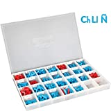 Really Good Stuff Spanish Plastic Magnetic Letters with Storage Case - Practice Letter Recognition and Build Spanish Words