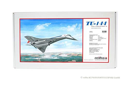 Flugzeugmodell TU-144 Plasicart Made in Germany