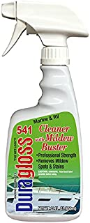 Duragloss 541 Marine/RV Cleaner/Mildew Buster, 22-Ounce Trigger Spray, Fluid