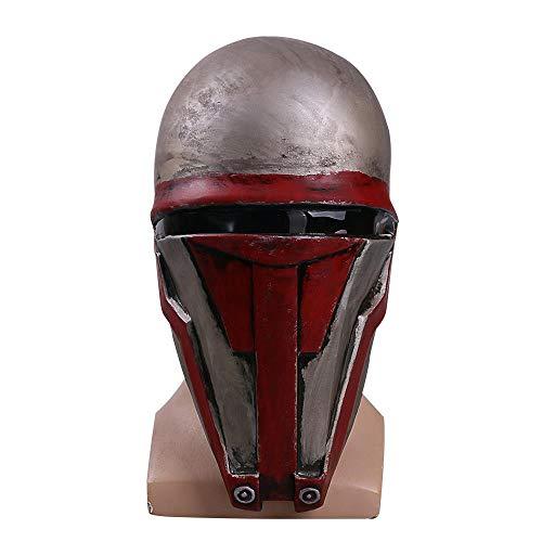 AISHANG Star Wars Darth Revan GesichtDas Revanchist Helm Cosplay Halloween Latex Gesicht