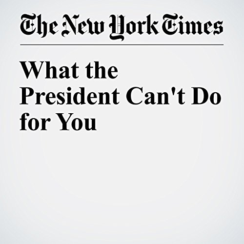 What the President Can't Do for You audiobook cover art
