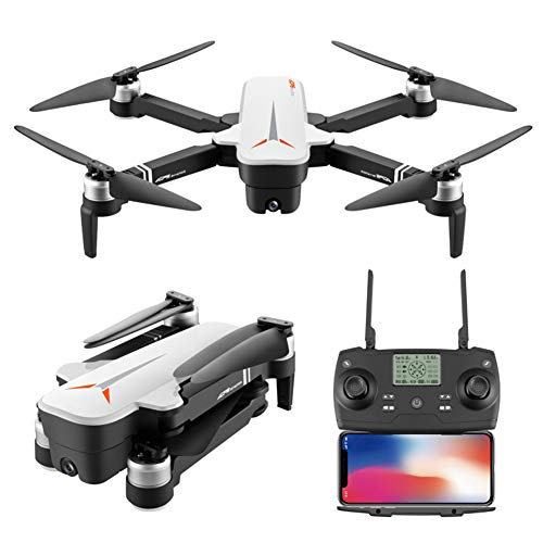 ASDZXC Drone GPS, 4K Grand Angle de Flux Optique à Double Mode Double caméra à Haute définition et Longue Endurance Grande Photographie aérienne sans Balai Pliage Facile pour Les débutants