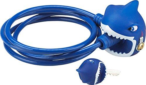 Crazy Stuff Kinder Shark Fahrrad Lock–Blau