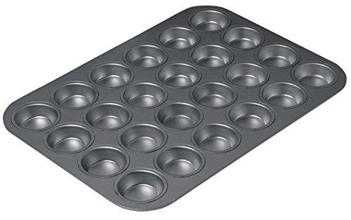 Chicaco Metallic CMET16024 Chicago Metallic Professional Non-Stick 24-Cup Mini Muffin Tin, 40 x 28 cm (15.5\